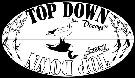 top down decoys, goose decoys, reversible goose decoys